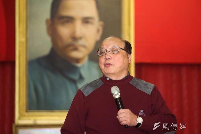 立委補選剛結束,前台中市長胡志強說,颱風預報都來了,還有太陽嗎?(資料照,陳明仁攝)