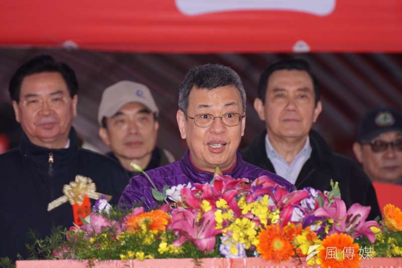 20180204-副總統陳建仁出席「寒士吃飽30尾牙」活動。(盧逸峰攝)