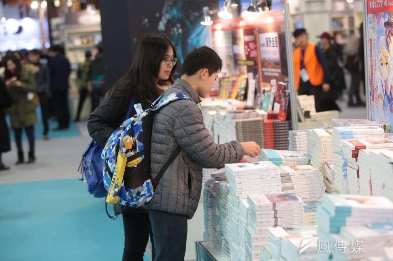 第26屆台北國際書展。(顏麟宇攝)
