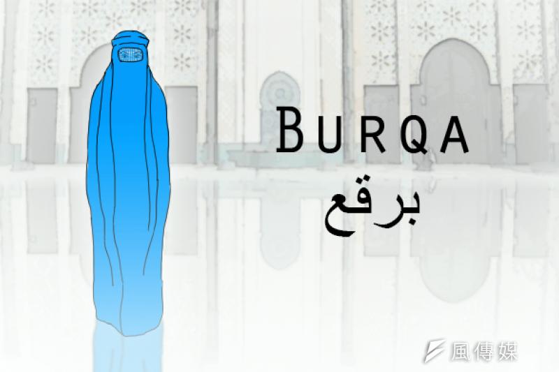 除了上市集、跑醫院、回媽媽家之外,平常阿富汗婦女哪兒都不去的,就算出門,也一定要穿布卡。(風傳媒李承祐繪製)