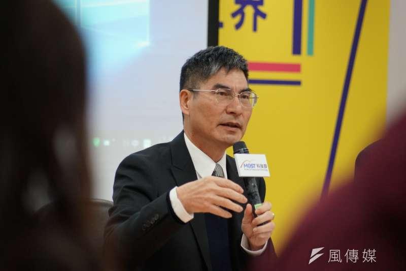 20180207-科技部年終記者會,部長陳良基出席。(盧逸峰攝)
