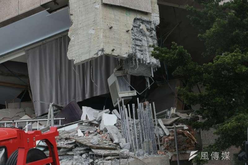 行政院長賴清德非常關切花蓮地震災情,捐出一個月薪資為花蓮救災、賑災及重建相關工作。(陳明仁攝)