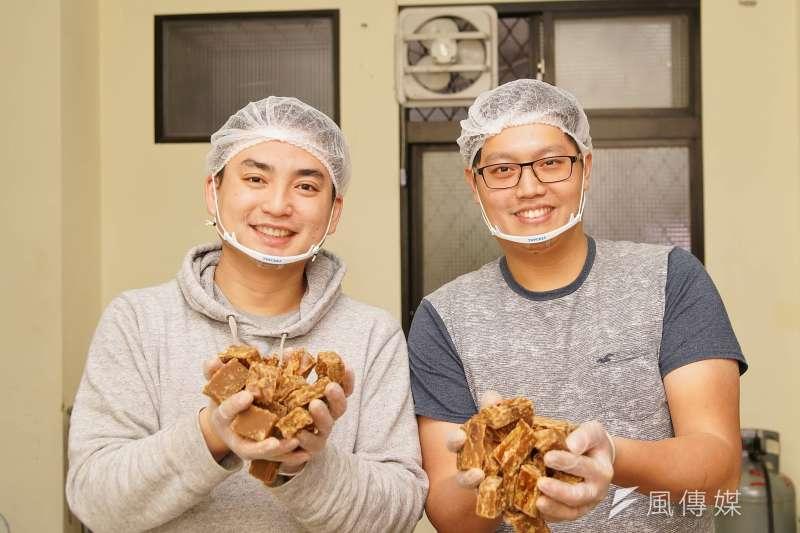 20180210-青年創業黑糖兄弟,手工製作的黑糖薑母是店內招牌。(盧逸峰攝)