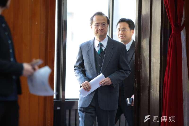 圖為司法院長許宗力「司法改革首次半年進度報告」記者會。(資料照,顏麟宇攝)