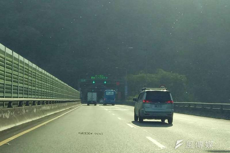 唐湘龍認為,一旦中國解放軍拿下宜蘭,透過雪山隧道可以馬上進攻台北。(資料照,廖绣玉攝)