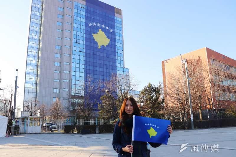 科索沃獨立10周年:台灣女生郭家佑獨自前往科索沃推動數位外交(郭家佑提供)