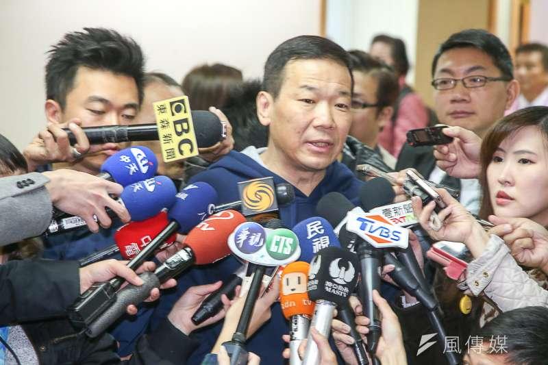 20180221-國民黨新春團拜,有意參選台北市長的鍾小平出席活動。(陳明仁攝)