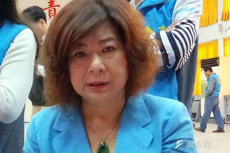 議長宋瑋莉辭黨部主委,前署長謝立功邀擔任競選總部要職。(圖/張毅攝)