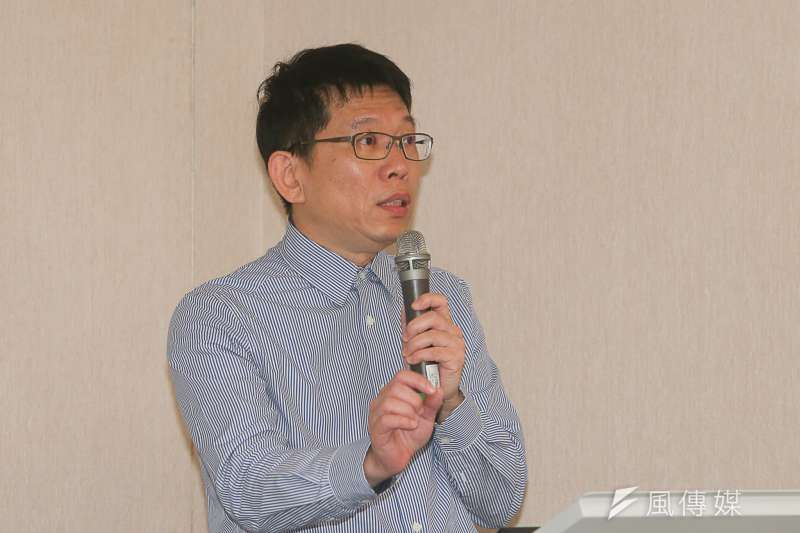 靜宜大學教授蘇瑤崇,出席「解密.國際檔案的二二八事件:海外檔案選譯」台北場次新書發表會。(陳明仁攝)