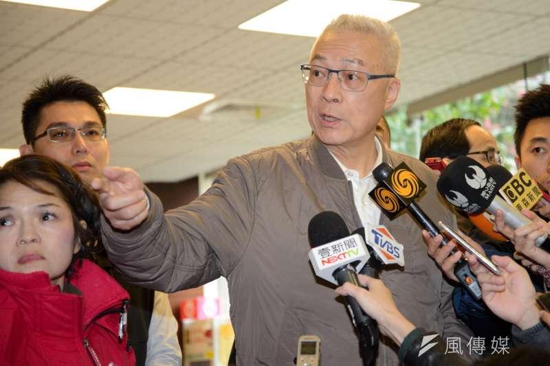 國民黨主席吳敦義接任黨主席之後,確定要續辦國共論壇,國民黨27日證實,預定在4月下旬舉行。(資料照,甘岱民攝)