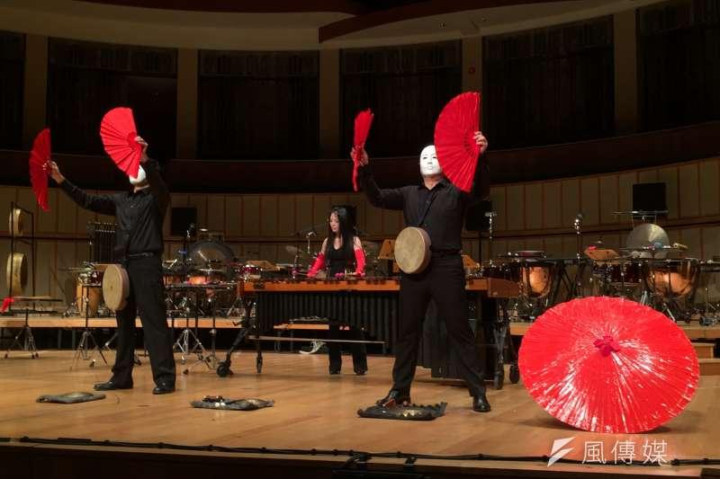 朱宗慶打擊樂團受新加坡華藝節邀請,於24日在新加坡濱海藝術中心演出。(朱宗慶打擊樂團提供)