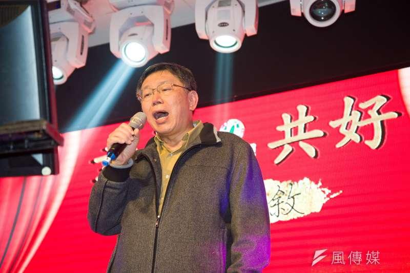 台灣民意基金會公布今(27)日公布最新民調,柯文哲、民進黨姚文智和國民黨丁守中3人競選,柯文哲依然贏面極高。(資料照,甘岱民攝)