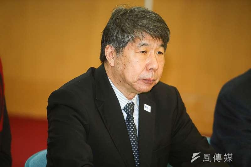 孫文學校總校長,台灣大學教授張亞中,出席孫文學校舉辦「二二八被遺忘的受難者追悼會」。(陳明仁攝)