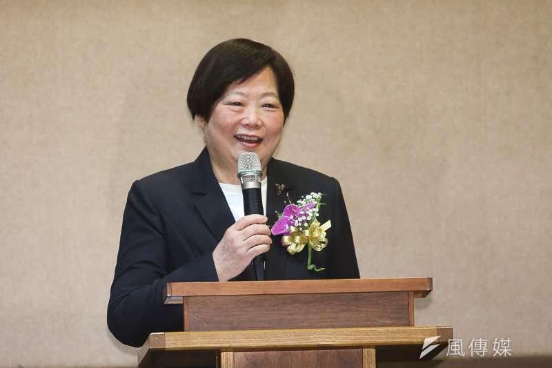 勞動部前部長林美珠,接任台灣金聯董事長。(資料照,陳明仁攝)