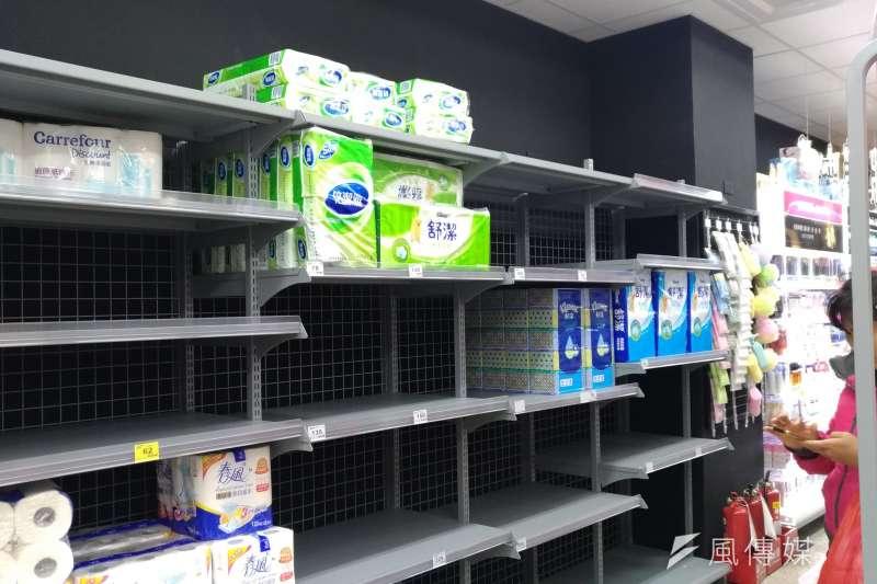 衛生紙,賣場(風傳媒)