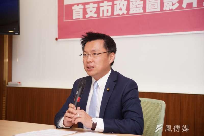 民進黨立委趙天麟回應吳寶春支持九二共識爭議。(資料照片,盧逸峰攝)