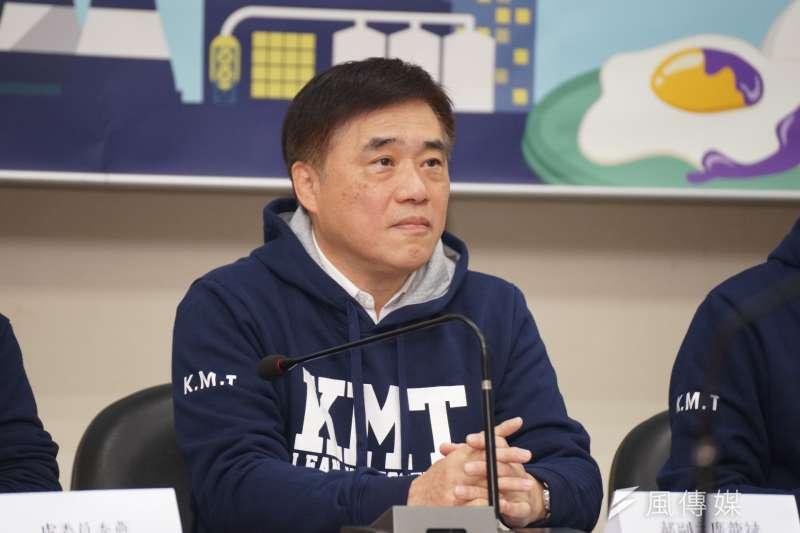 國民黨副主席郝龍斌昨天在廈門表示,希望與中共設立合作窗口服務台人。(資料照,盧逸峰攝 )