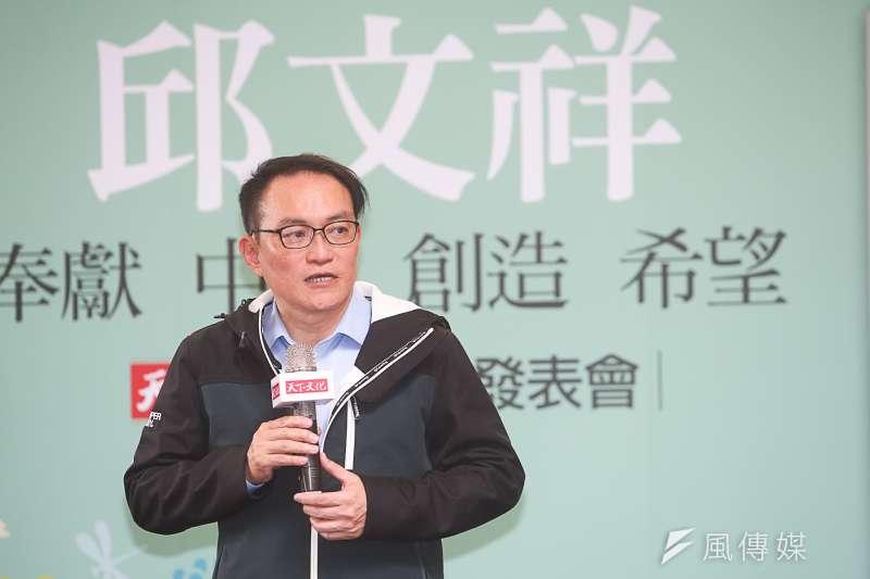 20180304-前台北市副市長邱文祥「我所求的是奉獻」新書發表會。(陳明仁攝)