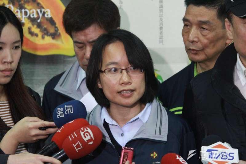 台灣版的「神隱少女」吳音寧,農委會與市府是否該考慮北農總經理換人作看看? (方炳超攝)