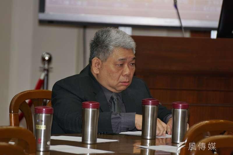 20180308-立委王榮璋出席財政委員會投票。(盧逸峰攝)