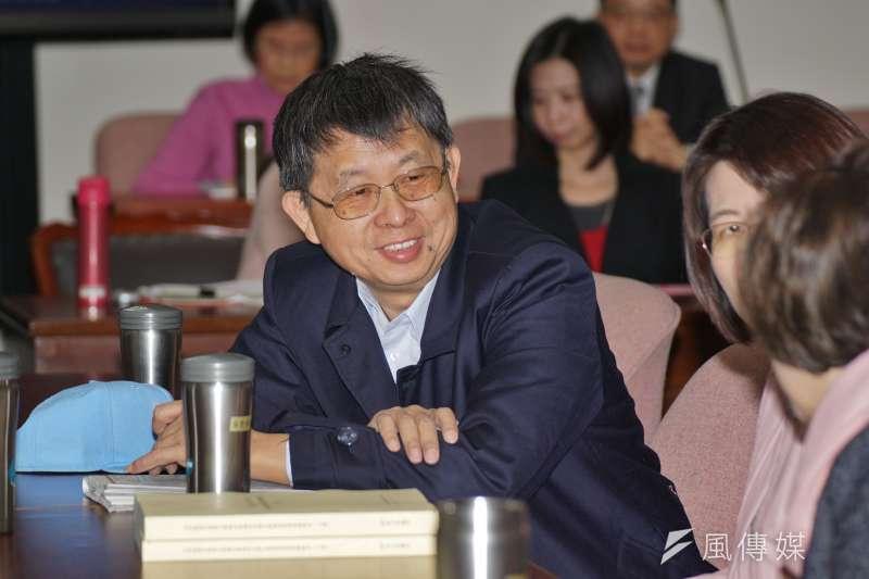 20180308-立委吳焜裕出席衛環委員會投票。(盧逸峰攝)