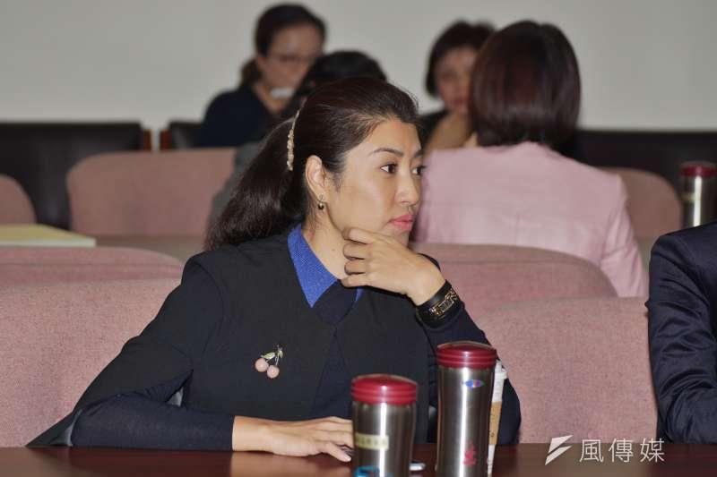 20180308-立委許淑華出席衛環委員會投票。(盧逸峰攝)