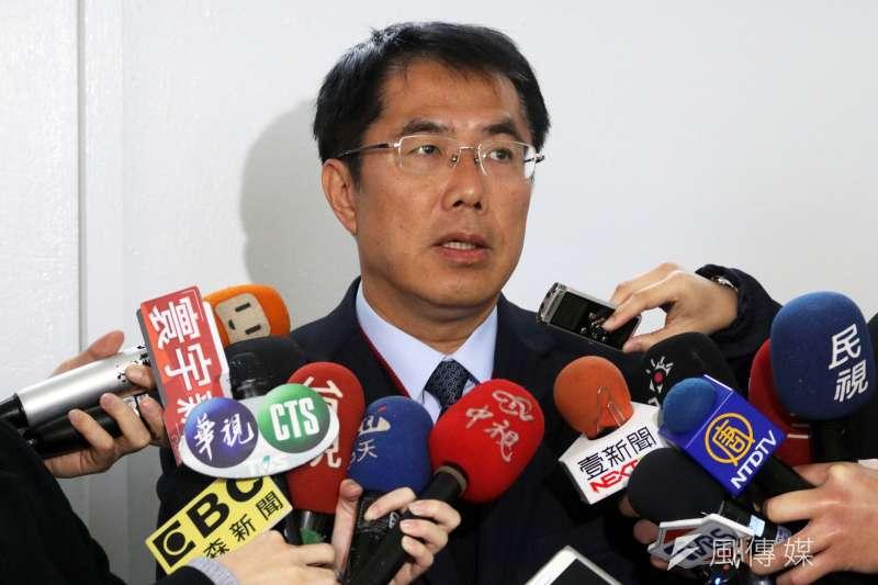 《六都春秋電子報》公布最新台南市長選舉民調,民進黨黃偉哲穩居第一。(資料照,蘇仲泓攝)