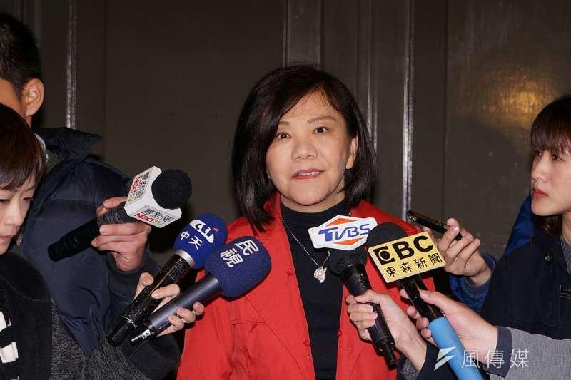 連任5屆立委的葉宜津,這次在台南市第1選區初選遭遇空前挑戰 ,黨內3名對手來頭都不小。(資料照,盧逸峰攝)
