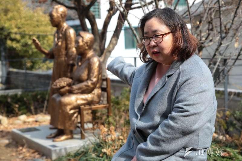 20180306-慰安婦專題,韓國首爾,戰爭與女性人權博物館長金東姬專訪。(顏麟宇攝)