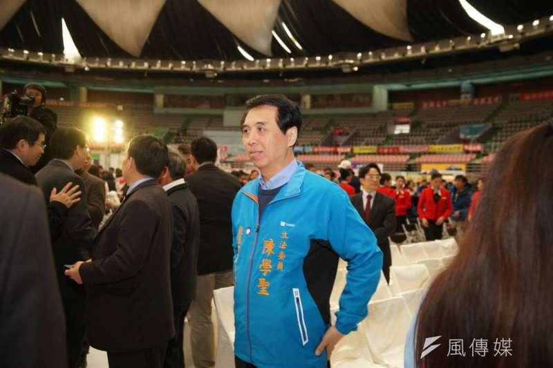 立委陳學聖(見圖)將代表國民黨角逐桃園市長選舉。(資料照,盧逸峰攝)