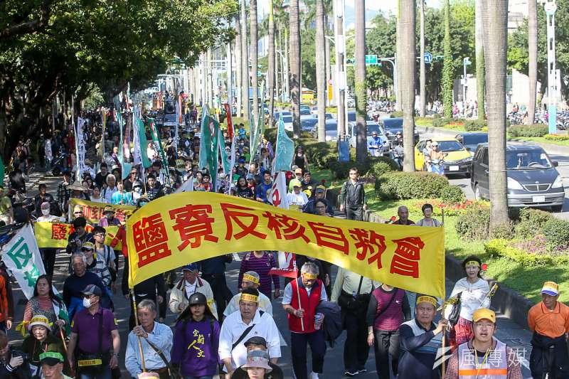 「面對核電代價,翻轉能源未來」311廢核大遊行。(陳明仁攝)