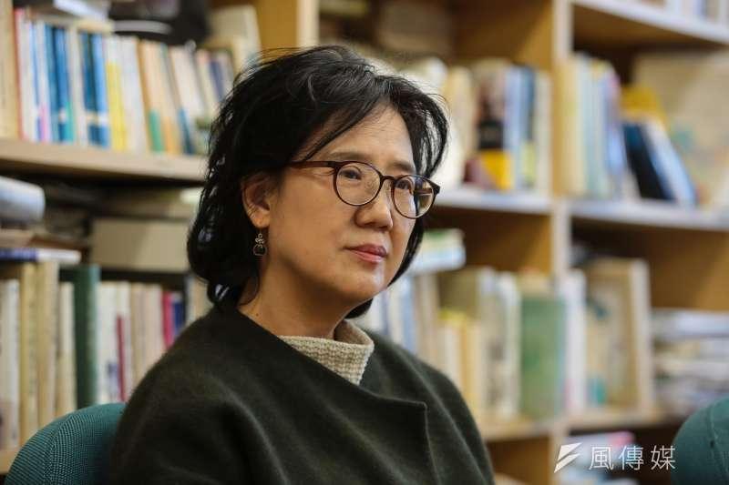 20180307-慰安婦專題,韓國首爾,世宗大學日文系教授朴裕河。(顏麟宇攝)