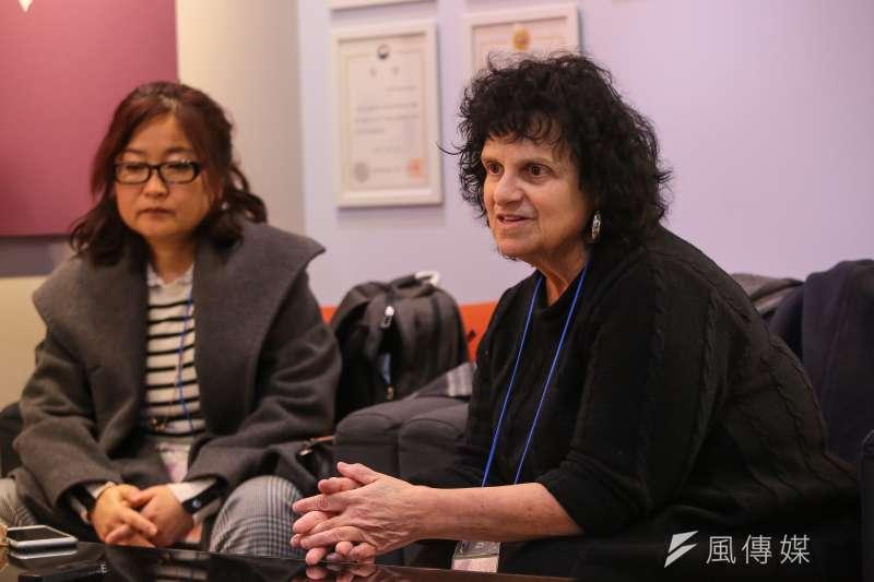 20180308-慰安婦專題,韓國首爾,Judith Mirkinson出席第15屆日軍性奴隸問題亞洲團結會議。(顏麟宇攝)
