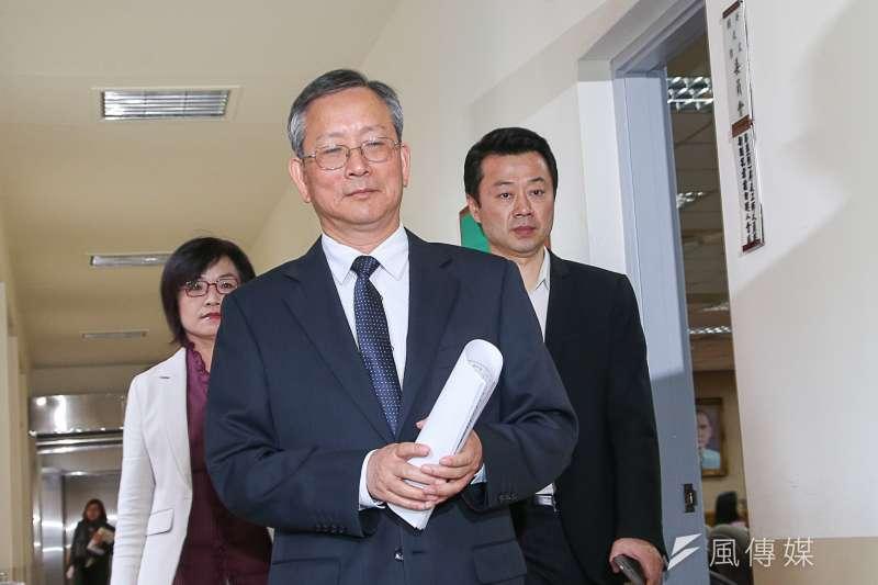 司法院秘書長呂太郎。(資料照片,陳明仁攝)
