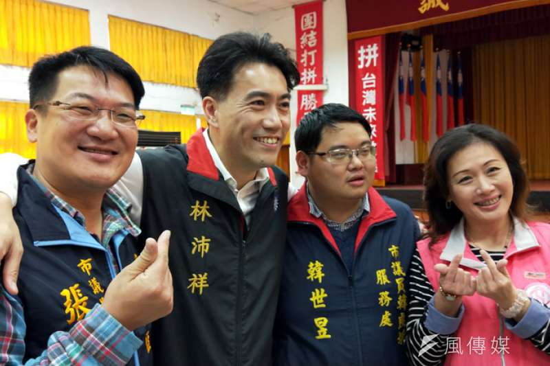 國民黨二代將接續為民服務,投入年底選戰。(圖/張毅攝)