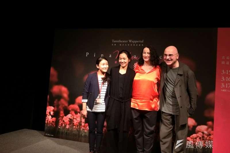 當代舞蹈經典碧娜.鮑許烏帕塔舞蹈劇場在台中歌劇院首次演出經典舞碼《康乃馨》。(圖/王秀禾攝)