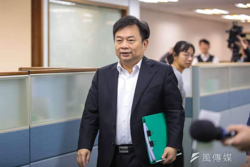 英營代表林錫耀回應初選爭議。(資料照片,顏麟宇攝)