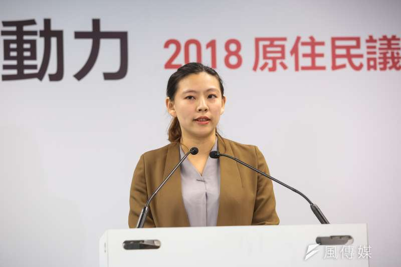 民進黨發言人何孟樺談台薩斷交。(資料照片,顏麟宇攝)