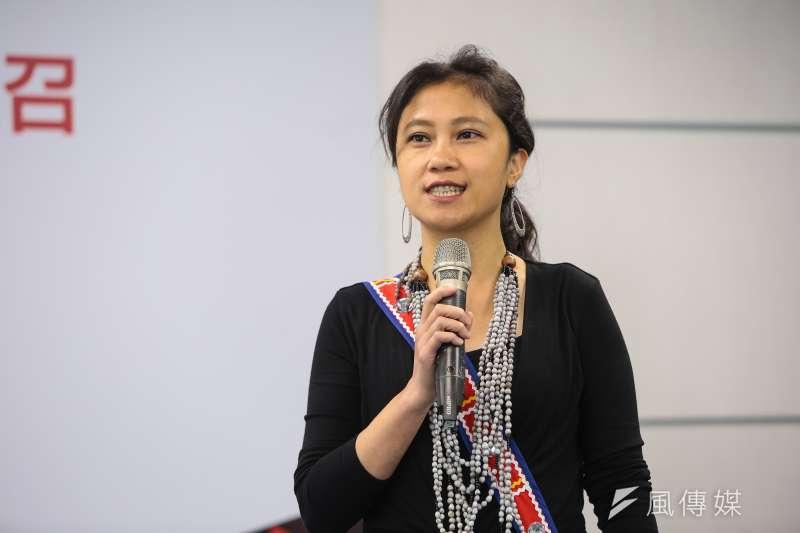 原住民立委立委谷辣斯.尤達卡(Kolas Yotaka),當了一年左右的民視新聞部記者。(資料照,顏麟宇攝)