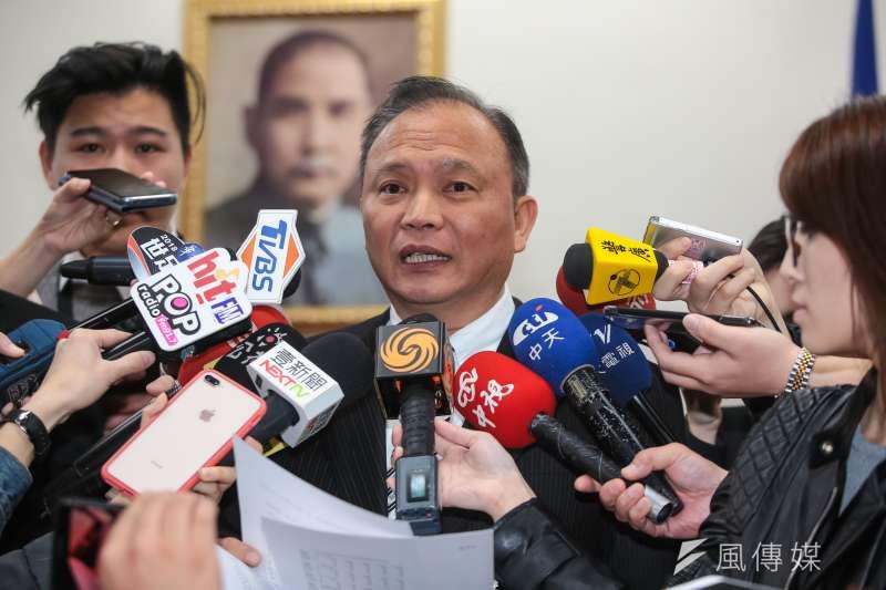 20180314-農委會主委林聰賢14日出席經濟委員會。(顏麟宇攝)