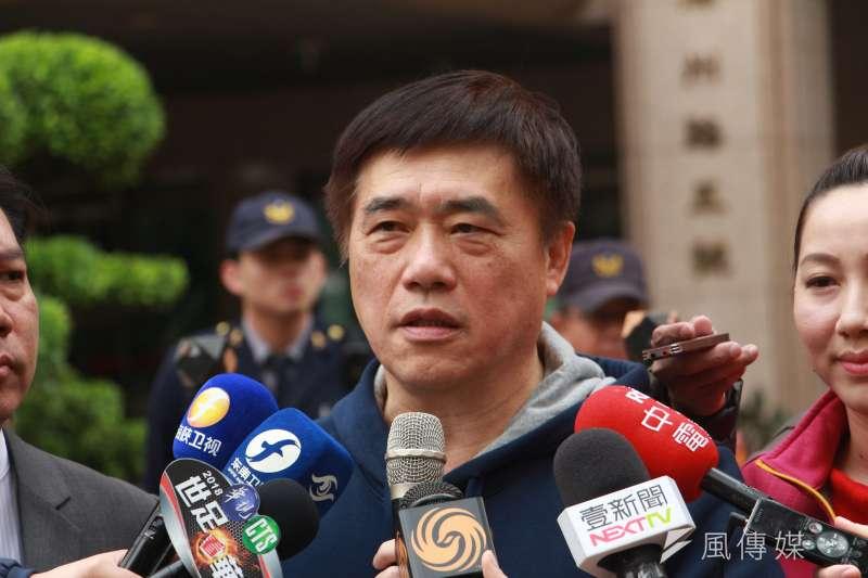 國民黨副主席郝龍斌。(資料照片,陳韡誌攝)