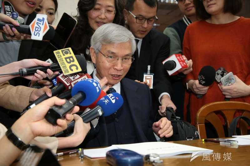 央行總裁楊金龍表示,維持「適度寬鬆」。(資料照,顏麟宇攝)
