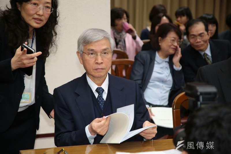央行總裁楊金龍談未來貨幣政策走勢。(資料照片,顏麟宇攝)