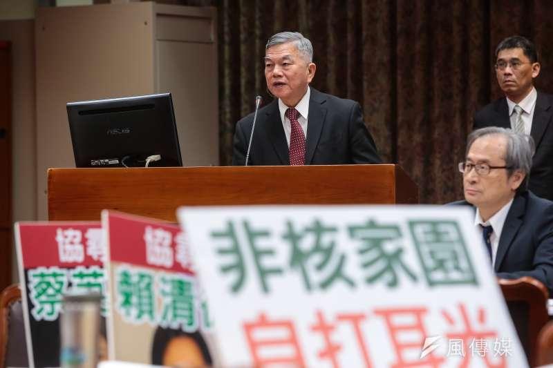 輕佻、無知的「才幾分錢」,這就是台灣的經濟部長嗎?(顏麟宇攝)
