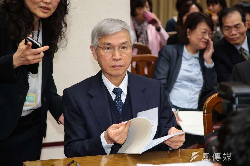 20180315-央行總裁楊金龍15日至立院財政委員會備詢。(顏麟宇攝)