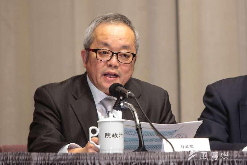 行政院副院長施俊吉表示,中國對台政策,絕對不會僅止於31項,未來還會繼續提出,為因應相關措施,陸委會將會組成專案會議,定期向國人報告相關措施後續影響。(顏麟宇攝)