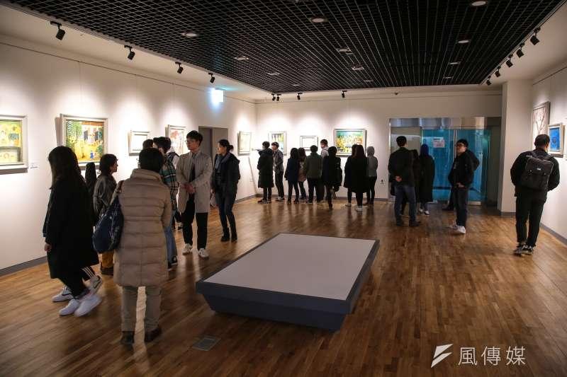 20180310-慰安婦專題,韓國京畿道廣州市,分享之家紀念館內參觀的學生民眾。(顏麟宇攝)