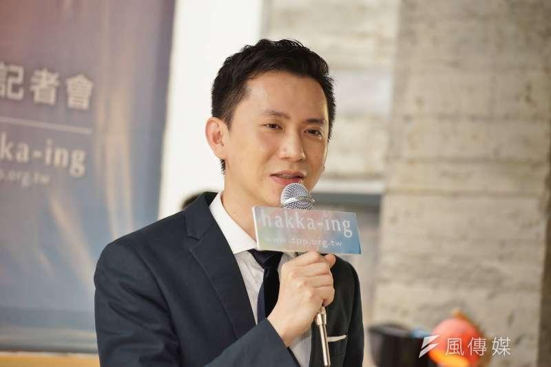 國民黨提名楊文科參選,民進黨參選人鄭朝方則表示「這意味著民國黨主席徐欣瑩成為主要對手了」。(資料照,盧逸峰攝)