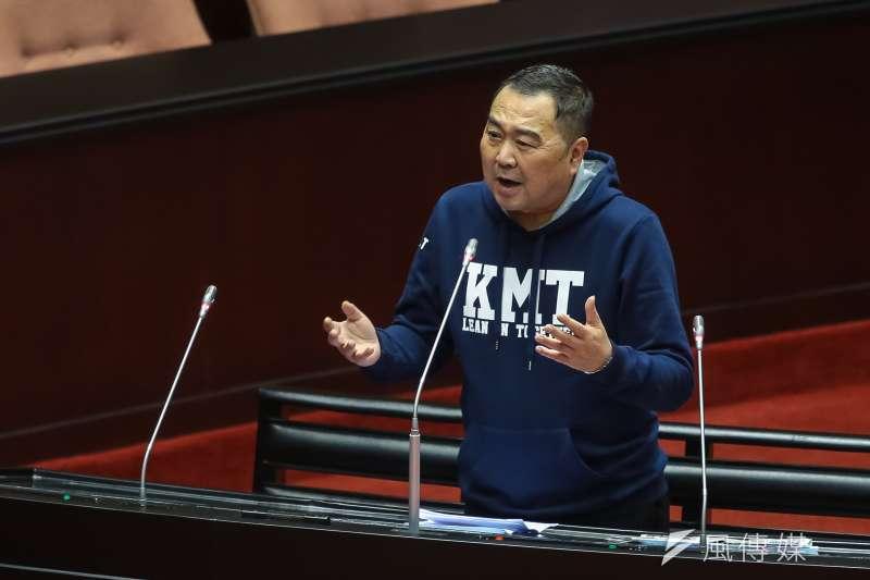20180320-國民黨立委徐志榮20日於立院質詢。(顏麟宇攝)