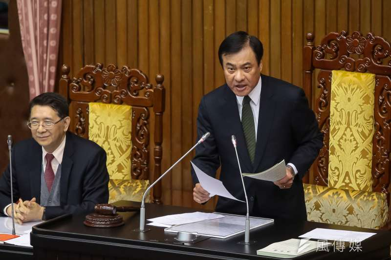 20180320-立法院長蘇嘉全20日主持院會。(顏麟宇攝)